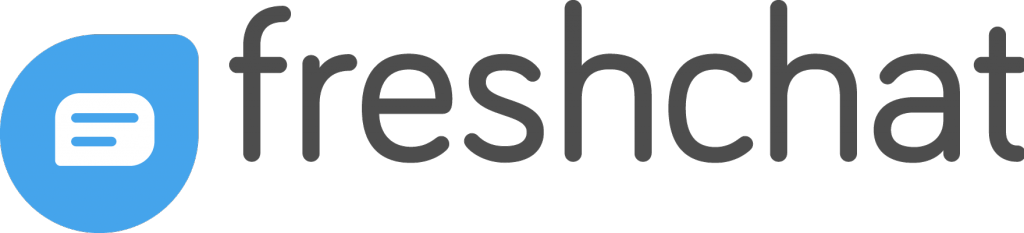 FreshChat logo | Arrangr's FreshChat app allows your agents to easily schedule meetings with customers right from the chat
