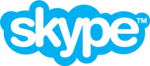 Skype logo | Arrangr integrates with Skype to let you seamlessly connect with Skype calls