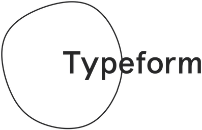Typeform logo | Arrangr integrates with Typeform to let you collect information and ask questions when scheduling meetings